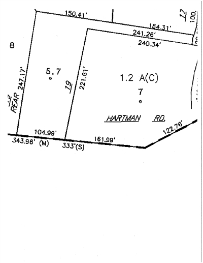 Residential Lots & Land For Sale: 19 Hartman Rd