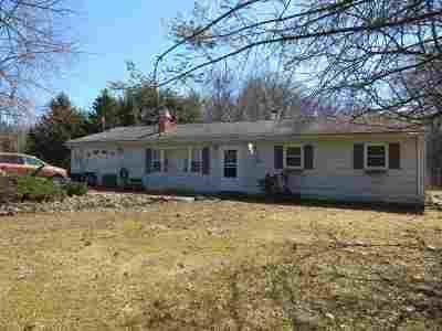 Columbia County Single Family Home Price Change: 32 Robin Rd