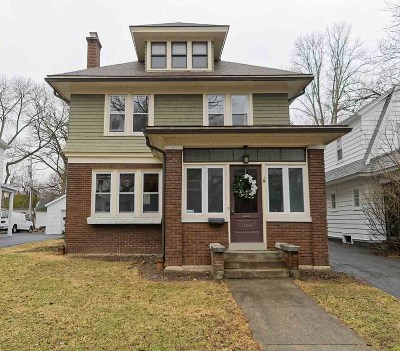 Schenectady Single Family Home For Sale: 1166 Oxford Pl