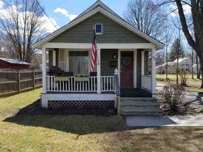 Albany County, Saratoga County, Schenectady County, Warren County, Washington County Single Family Home For Sale: 32 Spring St