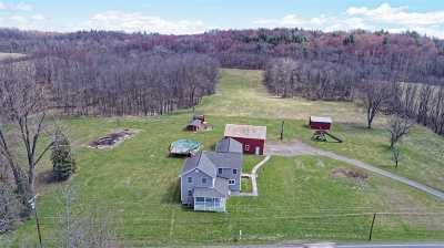 Mechanicville, Stillwater Single Family Home Active-Under Contract: 2332 River Rd