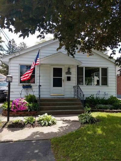 Schenectady Single Family Home For Sale: 808 Marion Av