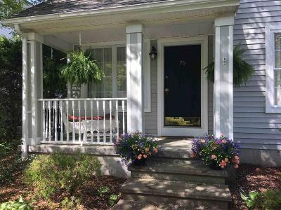 Saratoga Single Family Home For Sale: 76 Vanderbilt Av