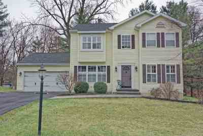 Single Family Home For Sale: 121 Old Coach Rd