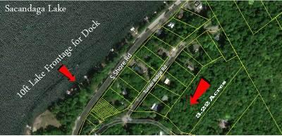 Benson, Broadalbin, Day, Edinburg, Hadley, Hope, Mayfield, Mayfield Tov, Northampton Tov, Northville, Providence Residential Lots & Land For Sale: Turner Rd