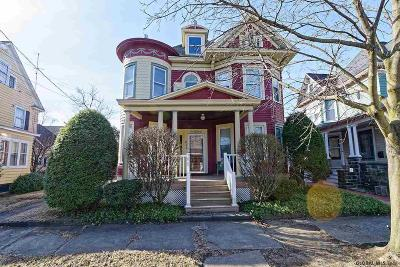 Albany, Amsterdam, Cohoes, Glens Falls, Gloversville, Hudson, Johnstown, Mechanicville, Rensselaer, Saratoga Springs, Schenectady, Troy, Watervliet Single Family Home New: 611 Broadway