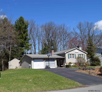 Clifton Park Single Family Home Active-Under Contract: 6 Mystic La