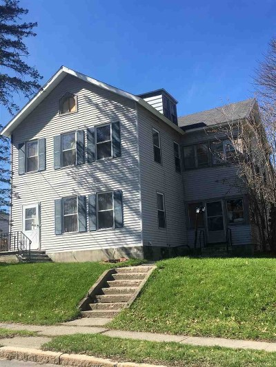 Cohoes Single Family Home For Sale: 107 Manor Av