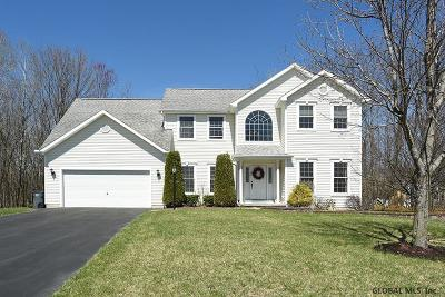 Clifton Park Single Family Home For Sale: 39 Blue Jay Way