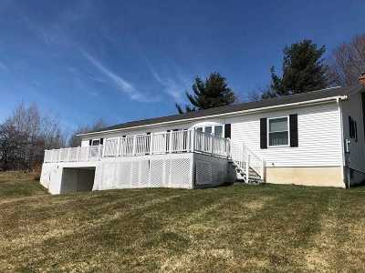 Essex County Single Family Home New: 2962 Dugway Rd