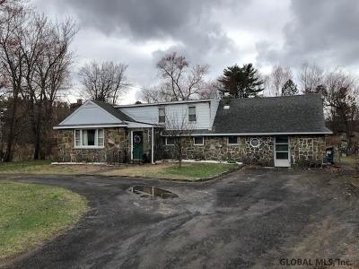 Single Family Home New: 58 Vly Rd