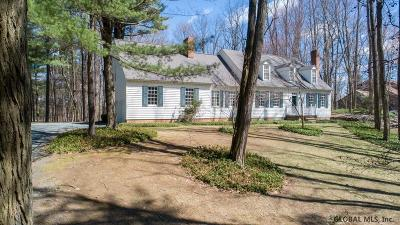 Halfmoon Single Family Home For Sale: 45 Tabor Rd