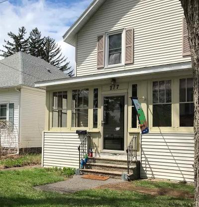 Schenectady Single Family Home New: 217 Clayton Rd