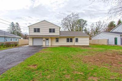 Guilderland Single Family Home Active-Under Contract: 3438 Gari La