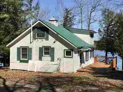 Greenfield, Corinth, Corinth Tov Single Family Home New: 150 Hunt Lake Rd