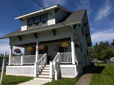 Cohoes Single Family Home For Sale: 121 Masten Av