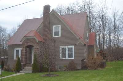 Ticonderoga Single Family Home Price Change: 84 Grace Av