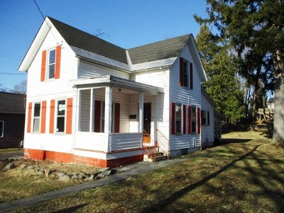 Glens Falls NY Single Family Home New: $59,000