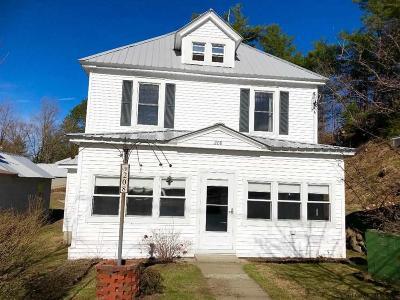 Johnsburg Single Family Home For Sale: 208 Main St