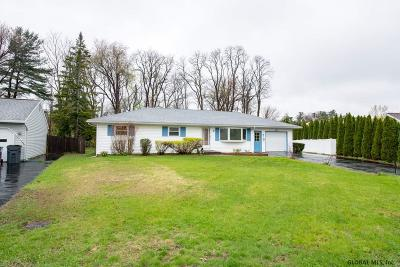 Guilderland Single Family Home For Sale: 8 Leto Rd