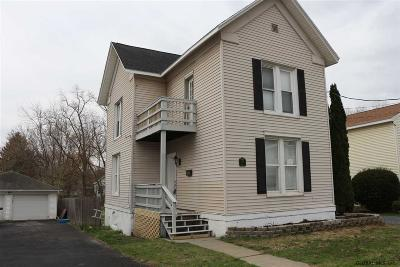 Mechanicville, Stillwater Single Family Home For Sale: 237 Saratoga Av