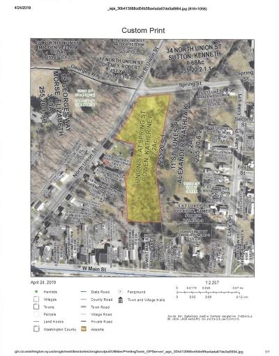 Washington County Residential Lots & Land For Sale: Spring St