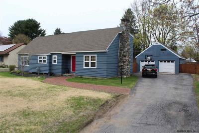 South Glens Falls Single Family Home For Sale: 13 Greenway Rd