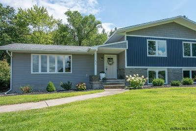 Clifton Park Single Family Home For Sale: 49a Bradt Rd