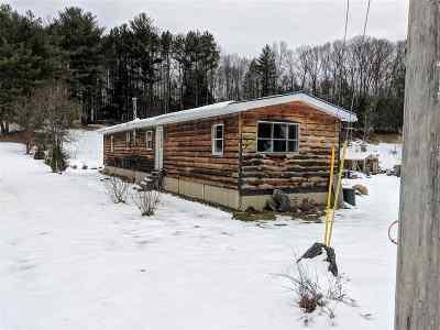 Broadalbin Single Family Home For Sale: 51 1/2 Union St