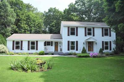 Clifton Park Single Family Home For Sale: 1029 Hatlee Rd