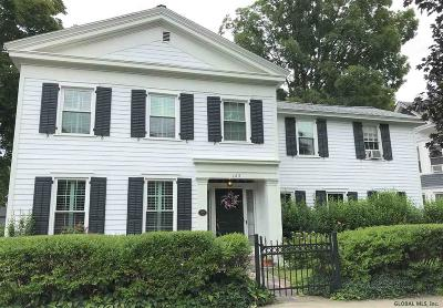 Saratoga County Single Family Home For Sale: 125 Lake Av