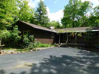 Lake George, Bolton Single Family Home For Sale: 268 Flat Rock Rd