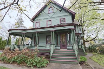 Ballston Spa Single Family Home For Sale: 14 Pleasant St