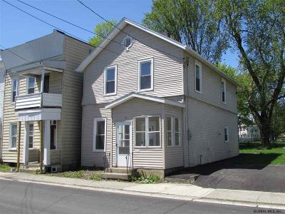 Cohoes Single Family Home For Sale: 13 Walnut St
