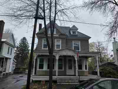 Glens Falls Single Family Home For Sale: 43 Grove Av