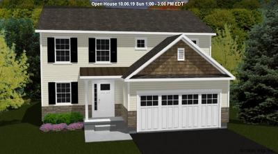 Colonie Single Family Home For Sale: Lot 19 Shore Ln