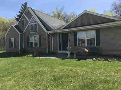 Hartford Single Family Home Active-Under Contract: 6354 State Route 149