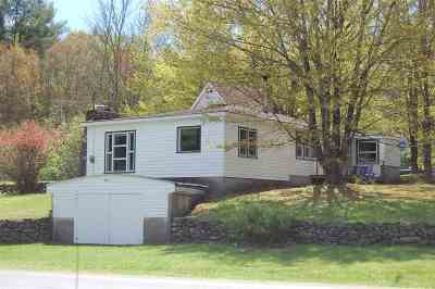Salem Single Family Home For Sale: 177 Camden Valley Rd