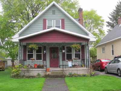 Schenectady Single Family Home Price Change: 1158 Sumner Av