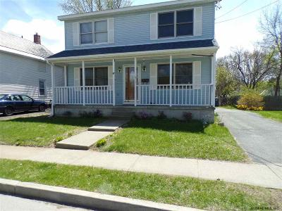 Glens Falls Single Family Home For Sale: 56 Third St