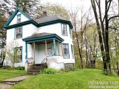 Gloversville, Johnstown Single Family Home For Sale: 62 Woodside Av