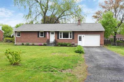 Guilderland Single Family Home Active-Under Contract: 104 Marjorie Dr