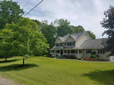 Saratoga County Single Family Home For Sale: 334 Colebrook Rd