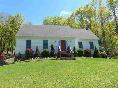 Hartford Single Family Home For Sale: 3124 Coach Rd