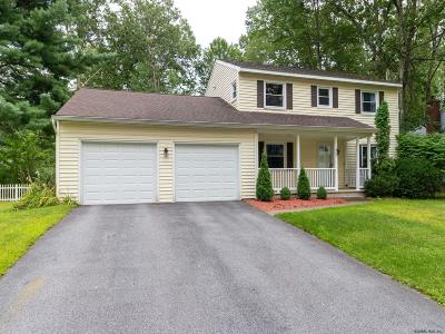 Saratoga County Single Family Home For Sale: 30 Lakewood Dr