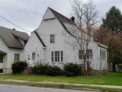 Amsterdam NY Single Family Home For Sale: $39,900