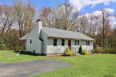 Saratoga County Single Family Home New: 491 Moe Rd