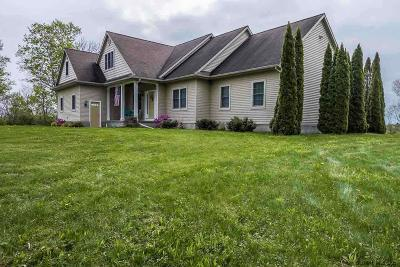 Saratoga County Single Family Home New: 2122 Donnan Rd