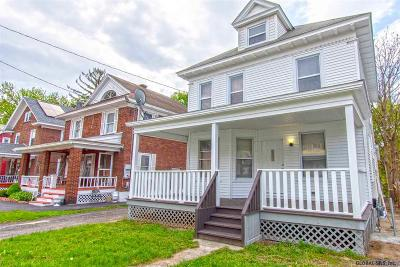 Schenectady Single Family Home New: 615 North Brandywine Av