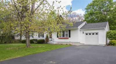 Wilton Single Family Home For Sale: 177 Traver Rd